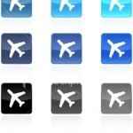 stock-illustration-3901031-airplane-icon-button-set